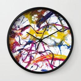 BACH: Sonata No 1 in G minor        by Kay Lipton Wall Clock