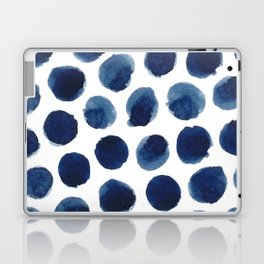 Watercolor polka dots Laptop & iPad Skin