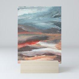 Serenity [2]: an acrylic piece in both warm and cool colors by Alyssa Hamilton Art Mini Art Print