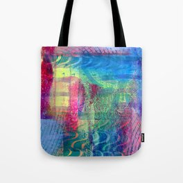 Rainbow smudged Tote Bag