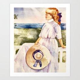 Summer Days on Cape Cod Art Print