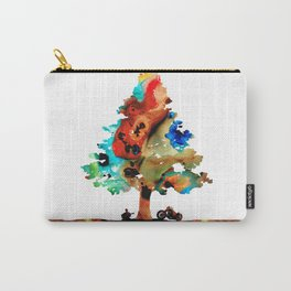 A Certain Kind Of Freedom - Guitar Motorcycle Art Print Carry-All Pouch