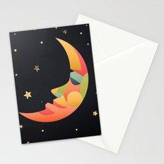 Imaginative Moon Stationery Cards