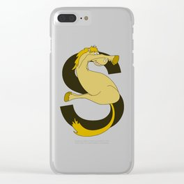 Monogram S Pony Clear iPhone Case