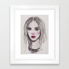 Quick! Framed Art Print