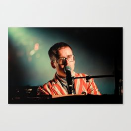 Alexis Taylor of Hot Chip Canvas Print