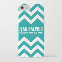 parks and recreation iPhone & iPod Cases featuring Jean Ralphio - Parks and Recreation by Sandra Amstutz