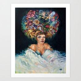 Superfluid Art Print