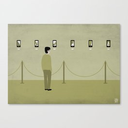 A smart gallery Canvas Print