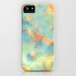 """Colored crystals . """"Sunbeams"""" . iPhone Case"""