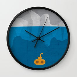 Yellow Submarine Wall Clock