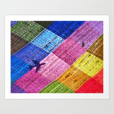 Fly-Over Country Art Print