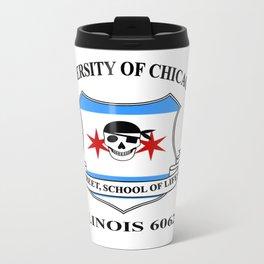 Chicago University Metal Travel Mug