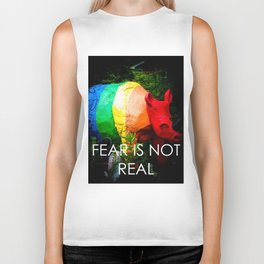 Fear Is Not Real Biker Tank