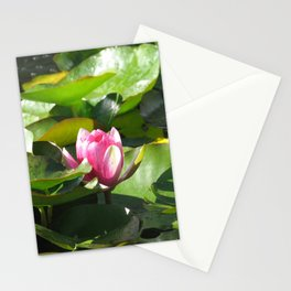 Nymphaea lotus Stationery Cards