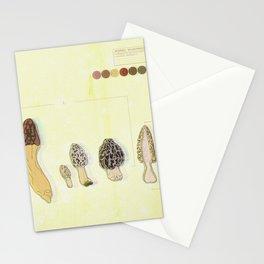 Morel Mushroom TRIPPY Detail 2 Stationery Cards