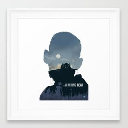 The Walking Dead - Season 2 Framed Art Print
