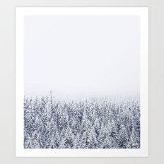 A Tale of Snow #society6 Art Print