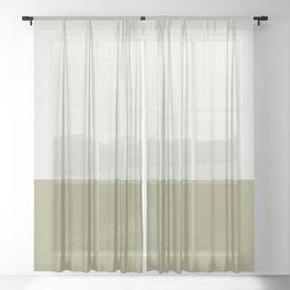 BONE x DESERT SAGE Sheer Curtain