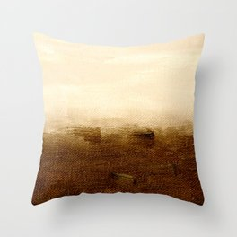 Cappuccino details Throw Pillow