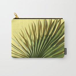 Palm on Yellow Carry-All Pouch