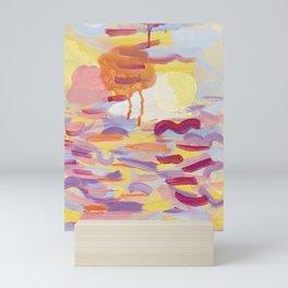 Sky Meditations on Joyous Days Mini Art Print