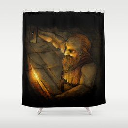 Dwarven Smith Shower Curtain