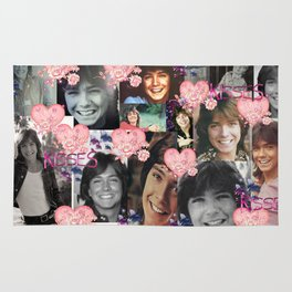 David Cassidy - Butterfly Kisses N Hearts Rug