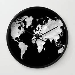 Design 70 world map Wall Clock