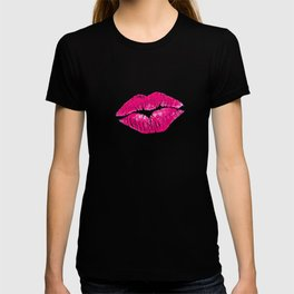 Hot Pink Lips T-shirt