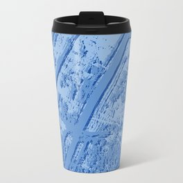 BLUE MARBLE EFFECT Travel Mug