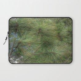Lush Pine Needles Laptop Sleeve