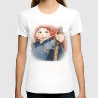 merida T-shirts featuring Merida  by Teddy Wade