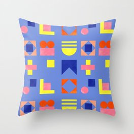 Geometry- pattern no1 Throw Pillow