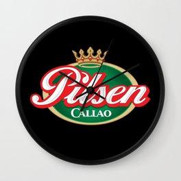 Cerveza Pilsen Callao Wall Clock