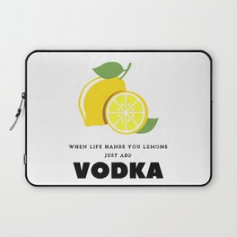 When Life Hands You Lemons Laptop Sleeve