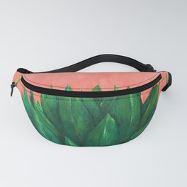 Millennial Agave - Succulent Pink Fanny Pack