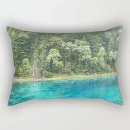 Turquoise Water Rectangular Pillow