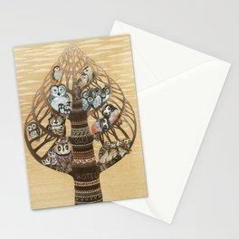 Owl Hotel Stationery Cards