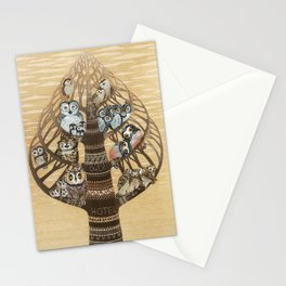 Owl Hotel Stationery Cards