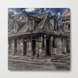Lafitte's Blacksmith Shop Metal Print