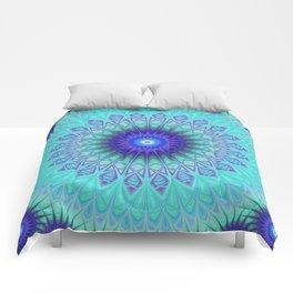 Frozen mandala Comforters