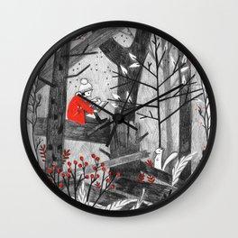 The Story Tree Wall Clock