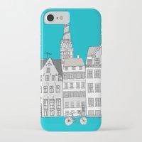 copenhagen iPhone & iPod Cases featuring Copenhagen by helena carrington