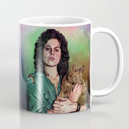 Ellen Ripley Stamp (Maldita sea tu estampa) Coffee Mug