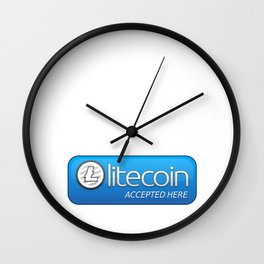 Accepted here: Litecoin Wall Clock