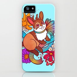 Springtime Jackalope iPhone Case