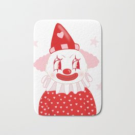 Poopywise the Clown Bath Mat