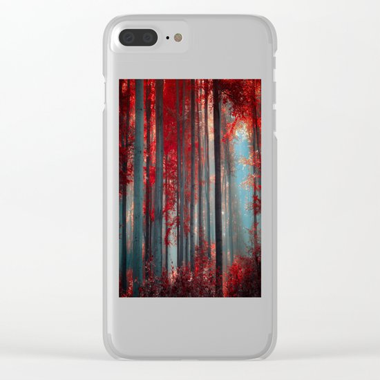 Magical trees Clear iPhone Case