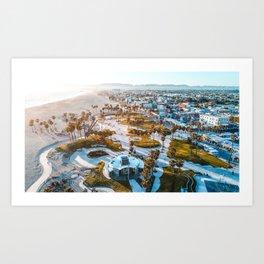 Venice Beach, CA Art Print